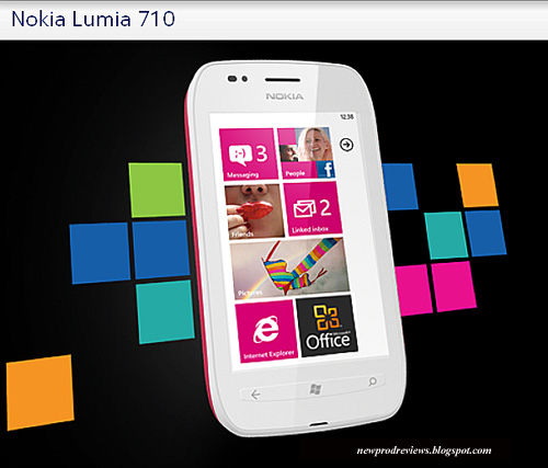 Nokia Lumia 800, Lumia 710: Full Specs, India/US Retail price