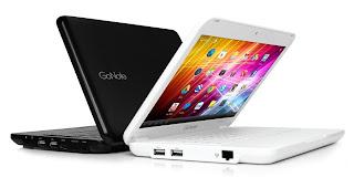 netbook android,gonote,harga dan spesifikasi gonote,netbook yang android,android pada netbook,android
