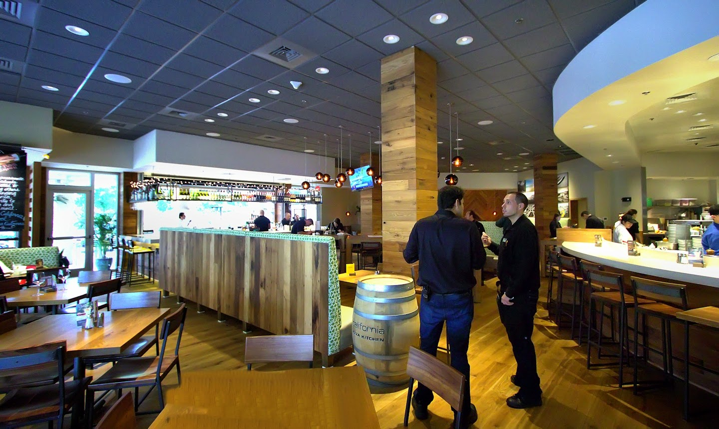 superb California Pizza Kitchen Naples Fl #7: Their dining space is much improved, commodious and inviting.