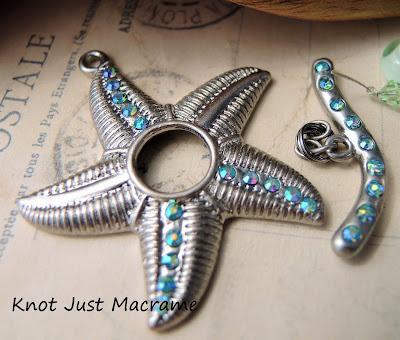 Starfish toggle clasp