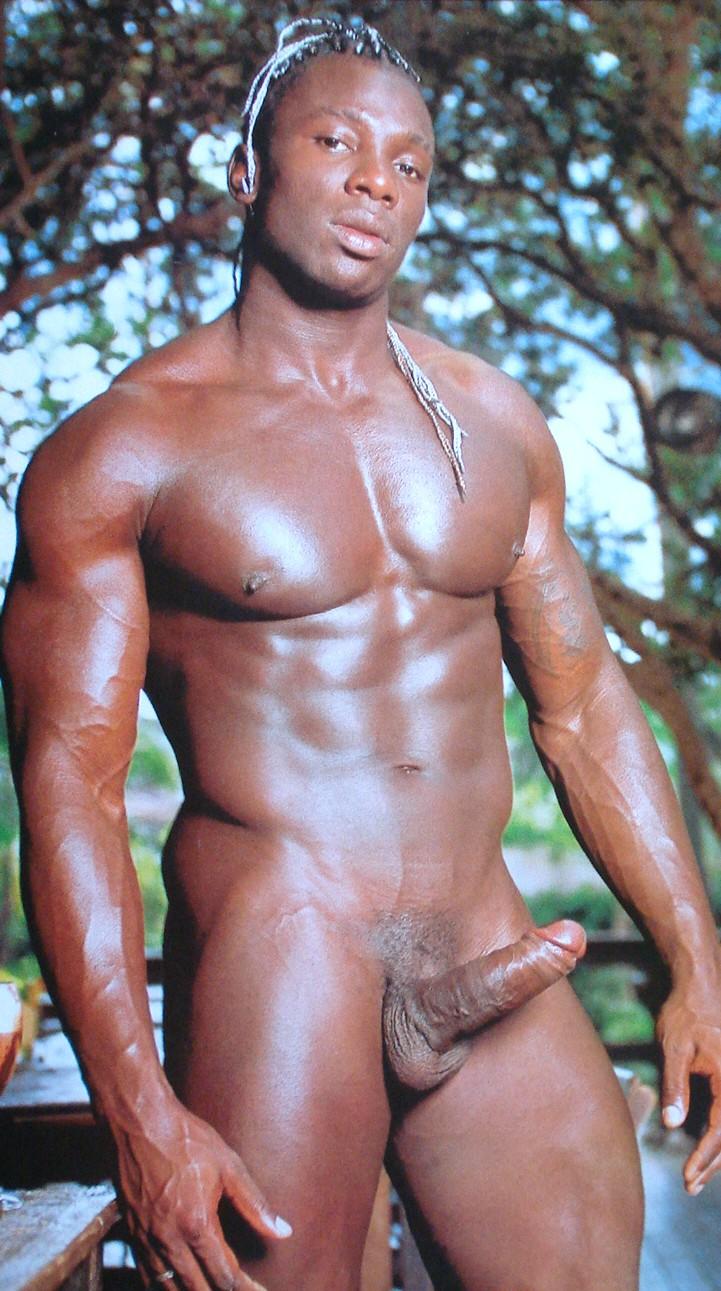 muscled white fucking gay black guy