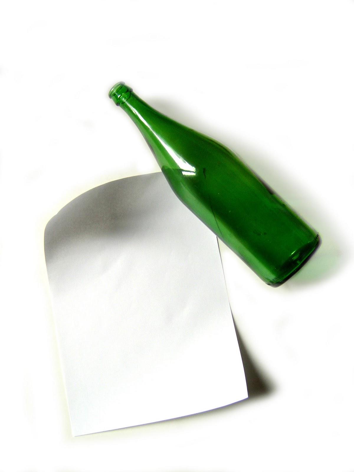 Residuos y medio ambiente botellas de papel para - Papel para vidrios ...