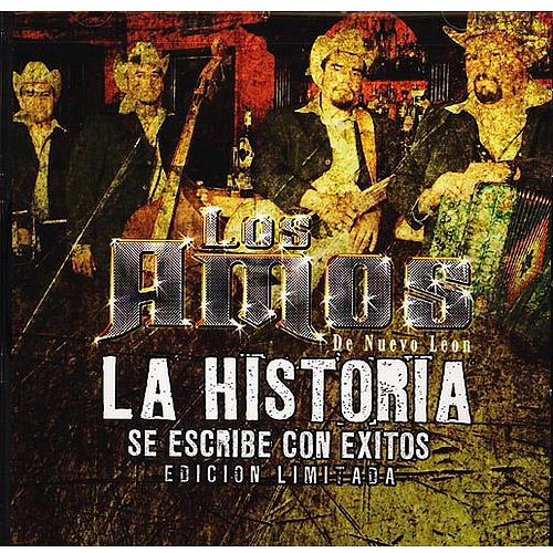 Los Amos De Nuevo Leon - La Historia Se Escribe Con Exito CD Album