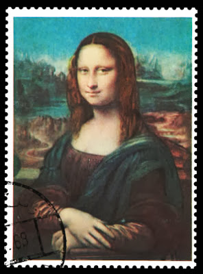 funny Mona Lisa is small, how big is Mona Lisa