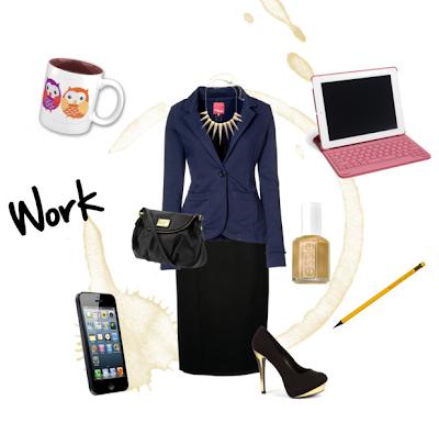 Miss Vay Blog Polyvore Workin Style Entretien Embauche Entrevue