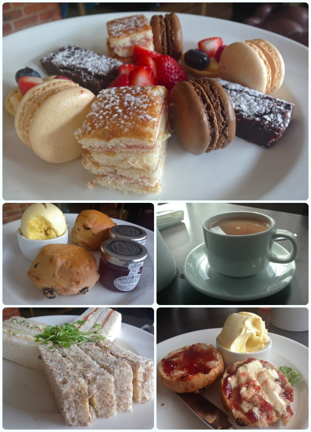 Afternoon Tea at the Victoria and Albert Marriott, Manchester