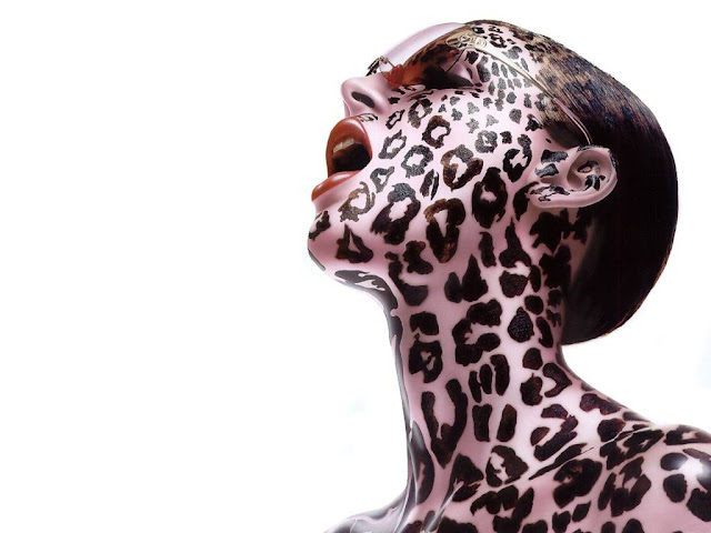 gallery of female body paint leopard
