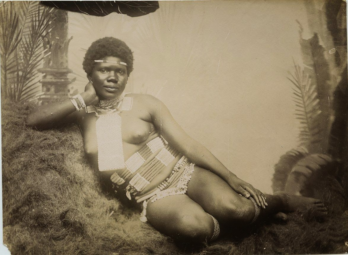 Vintage Photographs of Zulu Women of South Africa - c1890's