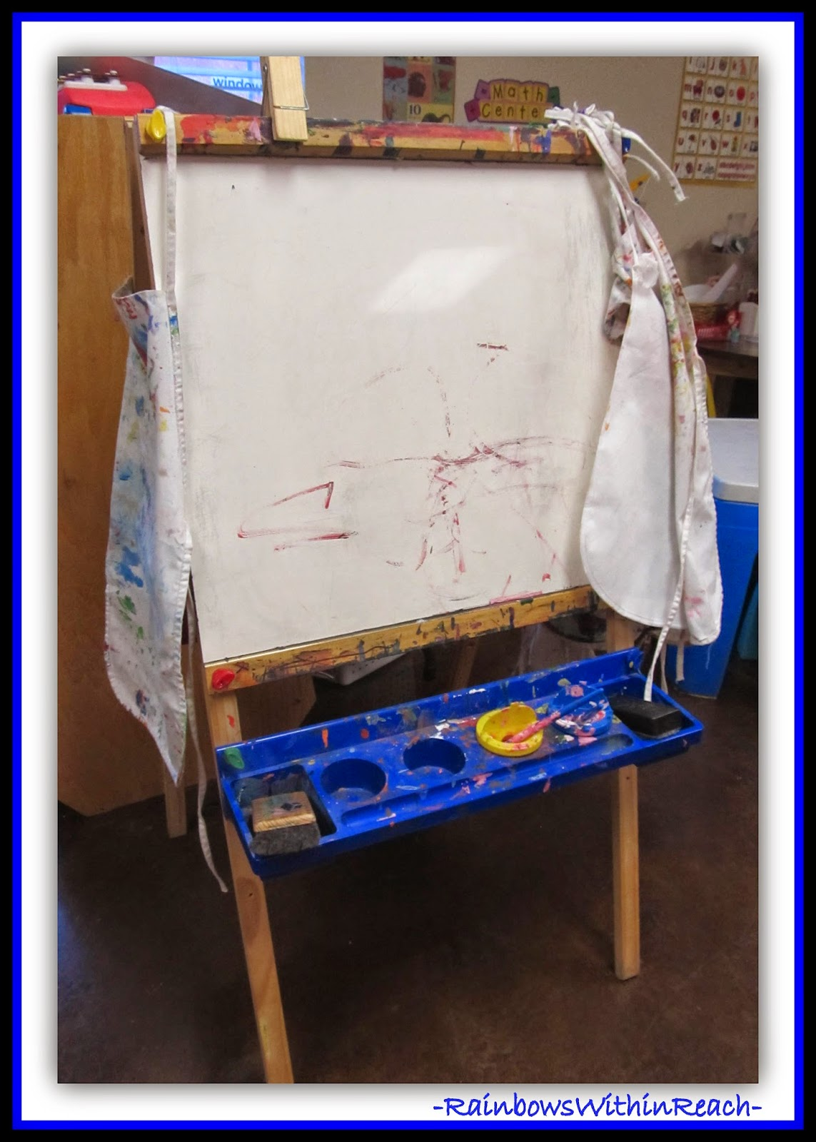 56 Easels: What do you WONDER? Creativity explored at RainbowsWithinReach
