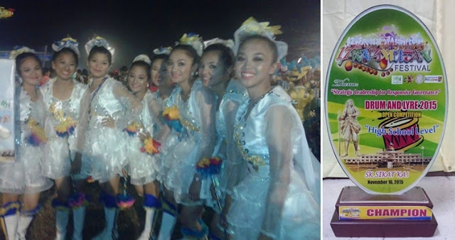 Alah Valley Academy is Sultan Kudarat's Kalimudan Festival 2015 Drum & Lyre Competition Champion