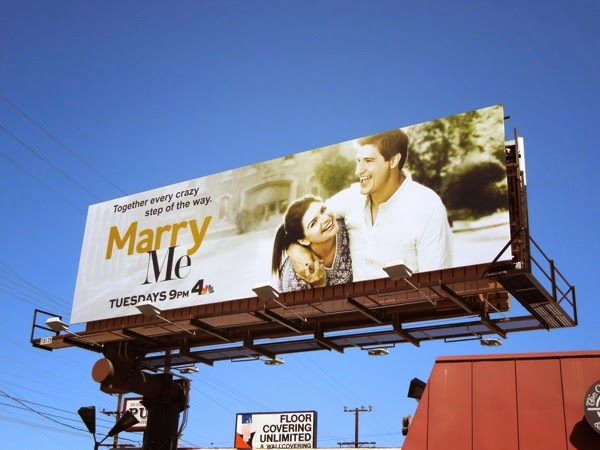 Marry Me series launch billboard
