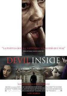 Cartel de la película Devil inside