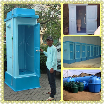 toilet portable fibreglass, flexible, wc portable, septic tank biotech