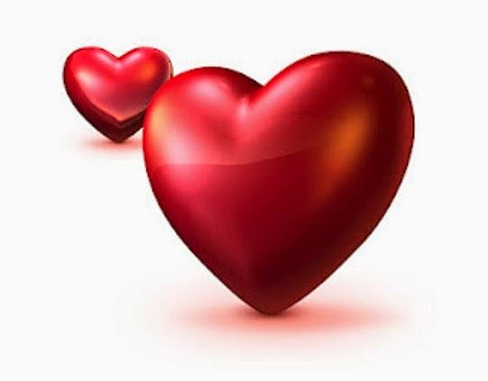 Hati, cinta, kekasih