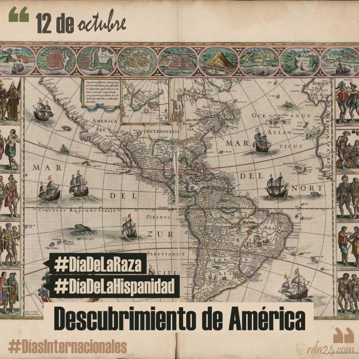 12 de octubre – Día del Descubrimiento de América #DíasInternacionales
