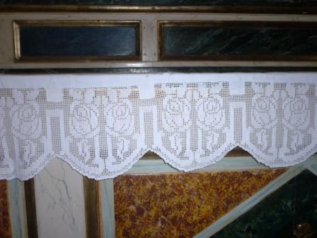 Tovaglie per altare all'uncinetto