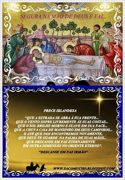 Oração Irlandesa