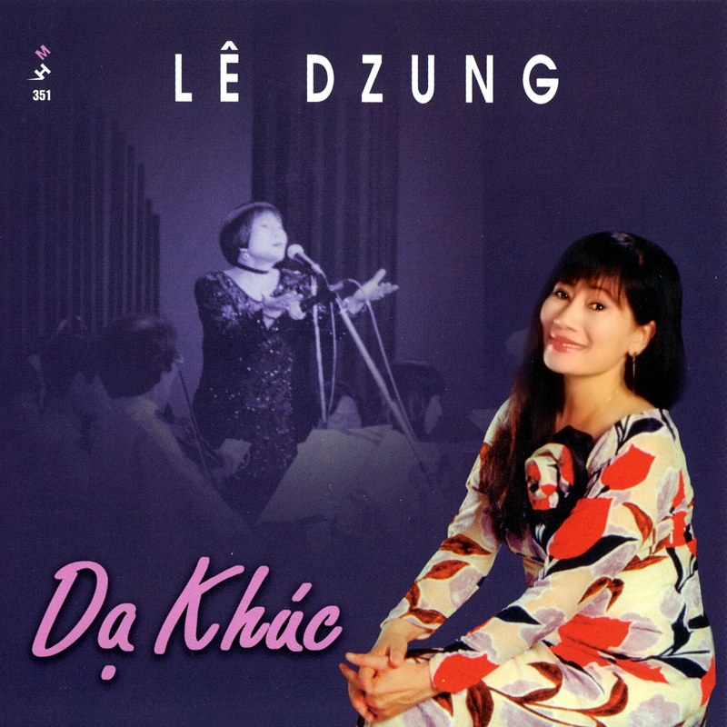 Mưa Hồng CD351 – Lê Dzung – Dạ Khúc (NRG)