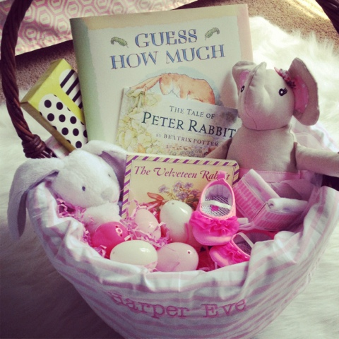 Easter basket goodies garvinandco easter basket ideas negle Image collections