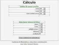 Cuaderno Matemáticas
