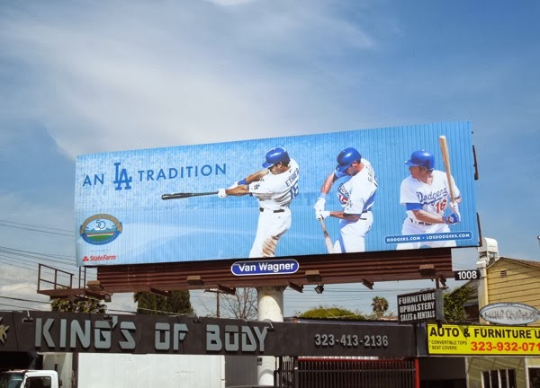 Dodgers LA tradition billboard Mar 2012