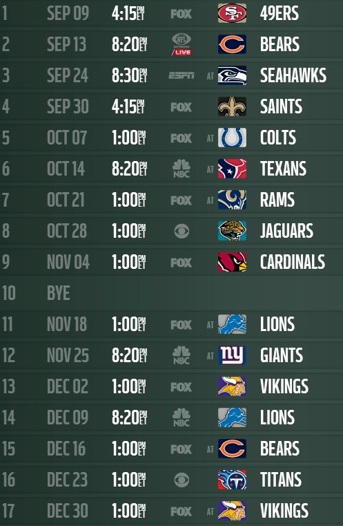 two cents from the nose bleeds  2012 nfl schedule released