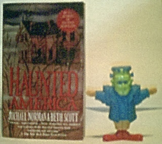 Front of Frankie McDonald with Haunted America book