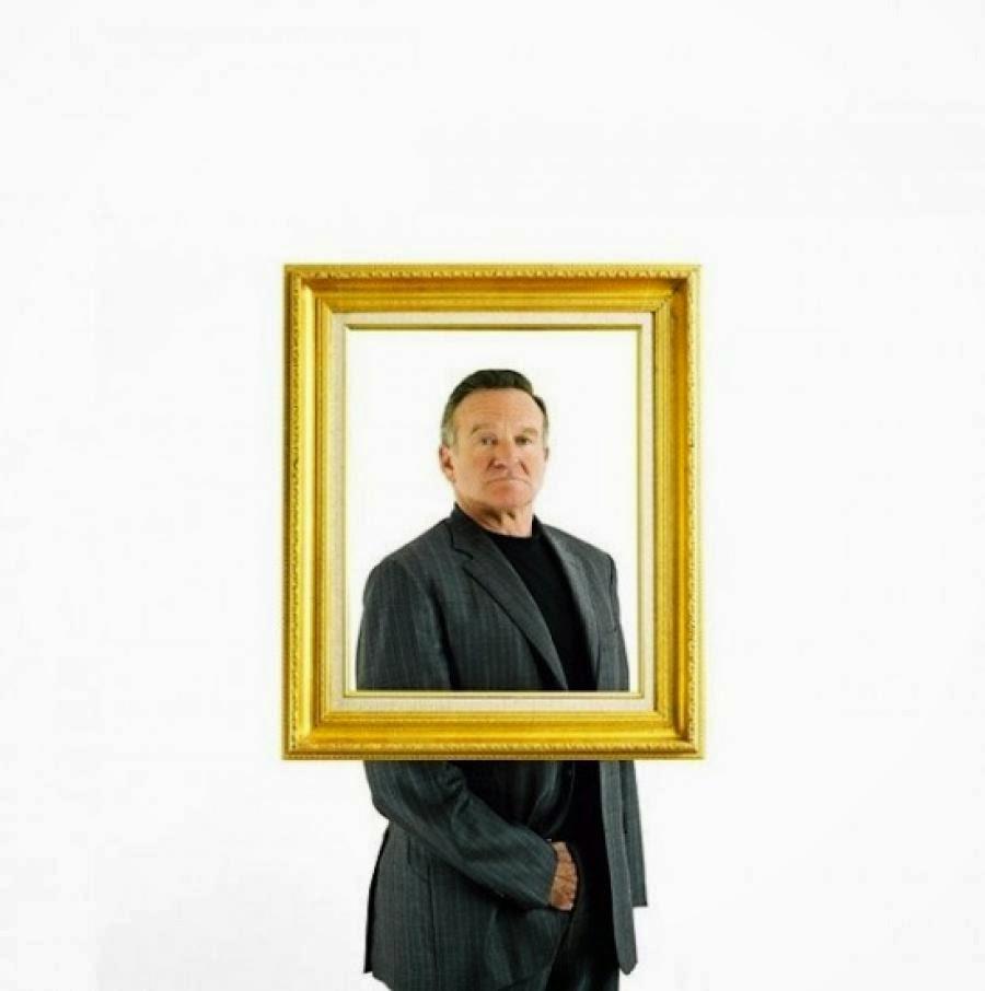 Damon Winter, retrato de Robin Williams