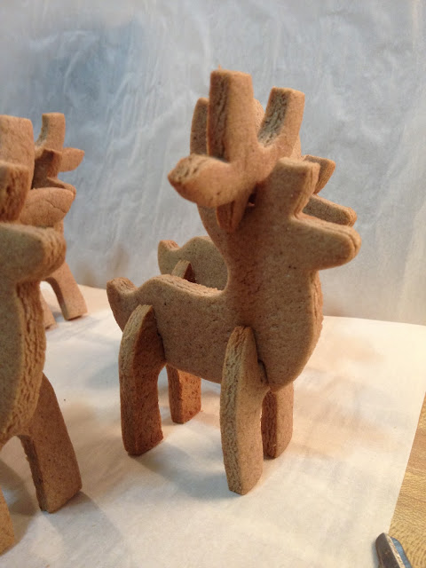 the unknown orchard  3d gingerbread reindeer cookies  now