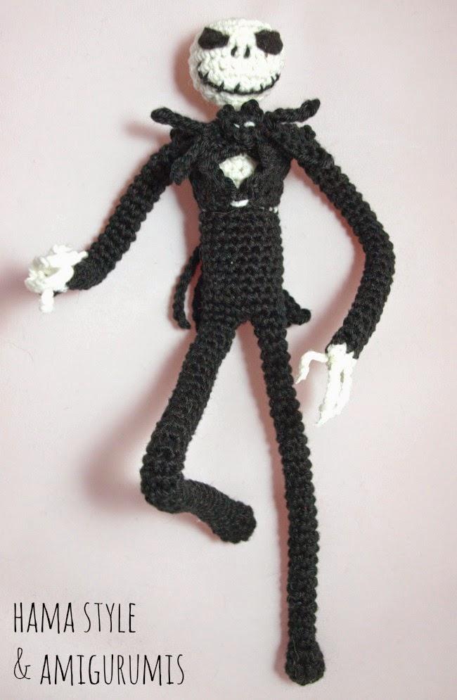 Marta Ruso Crochet Creativo: Jack Skeleton Amigurumi - Patrón [GRATIS]