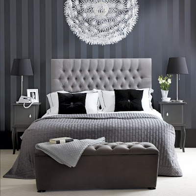 Bedroom Colors  Designs on Modern Bedroom Decorating Ideas In Gray Color Scheme   Luxury Home