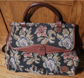 Pink Calico: Tapestry Bag