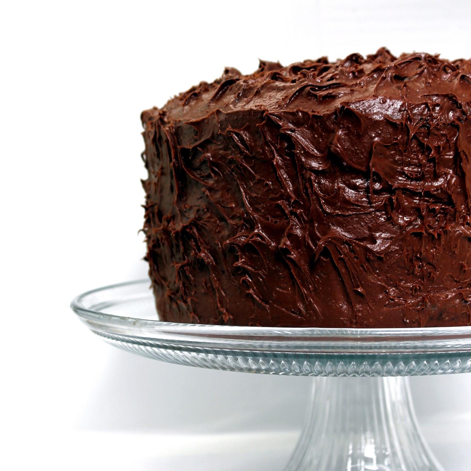 Amazing Chocolate Cake An amazing chocolate cake.