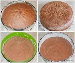 blat de tort, pandispan, preparare pandispan negru, preparare blat de tort negru, preparare dulciuri, cum se face pandispan, cum se face blat de tort, retete culinare,
