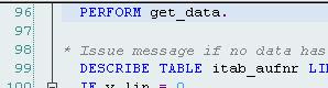 STAD output hit list call point in ABAP