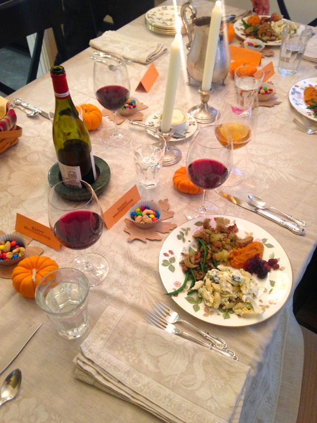 Thanksgiving table @marmar
