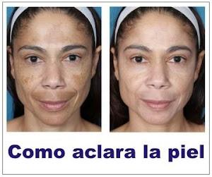 Elimine las manchas de la piel