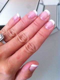 Shellac French Manicure