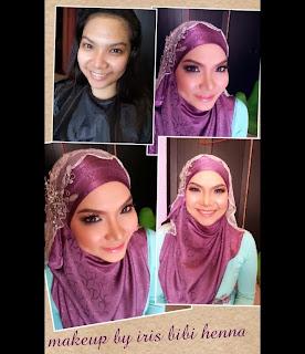 Solekan ringkas tunang @ simple makeup