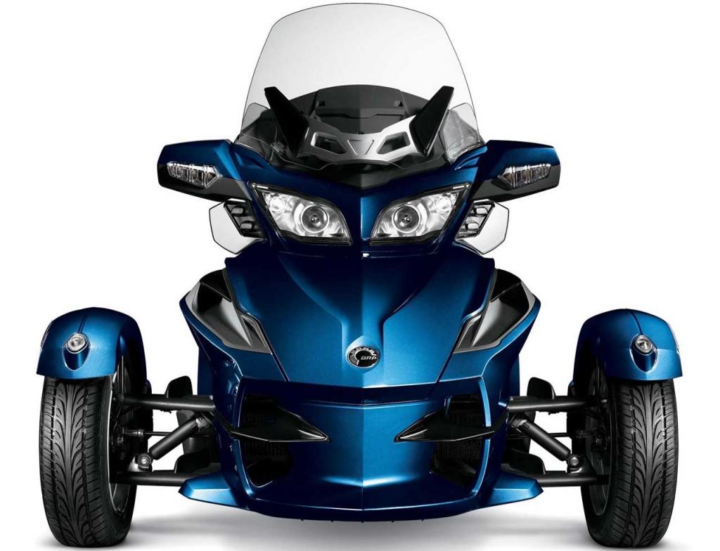 Spyder RT Motor Roda Tiga nan Eksotik ~ Kumpulan Artikel