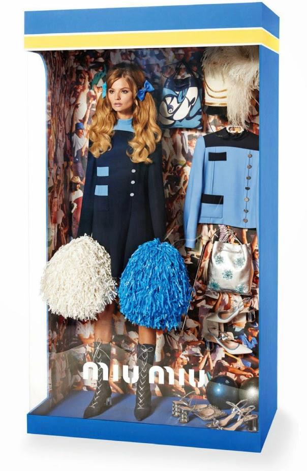 Vogue Paris Dicembre 2014   editoriale miu miu