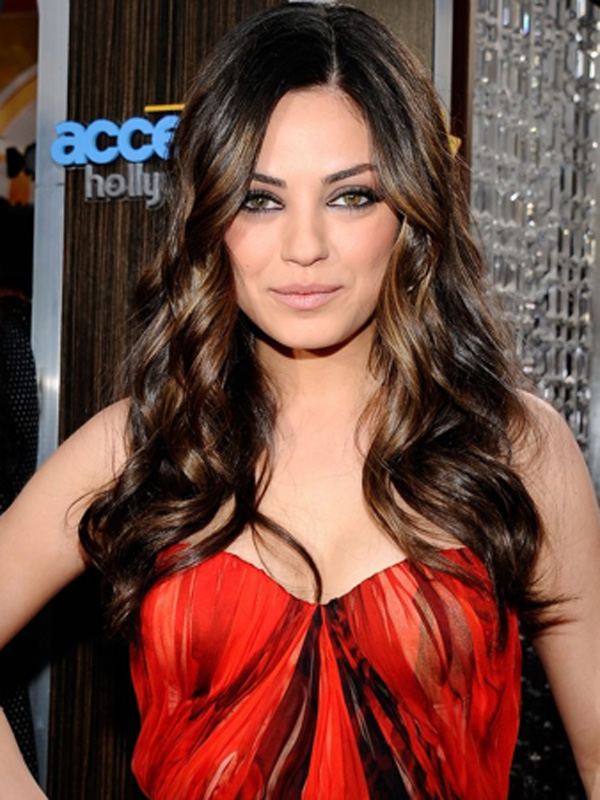 Trends Hairstyles Mila Kunis Hair