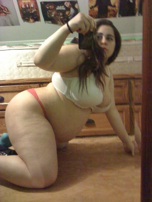 Self nude teen Fat pic