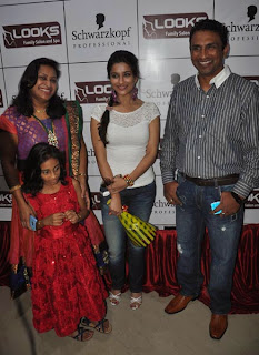Heroine Madhurima Pics at Looks Salon Spa Launch Event