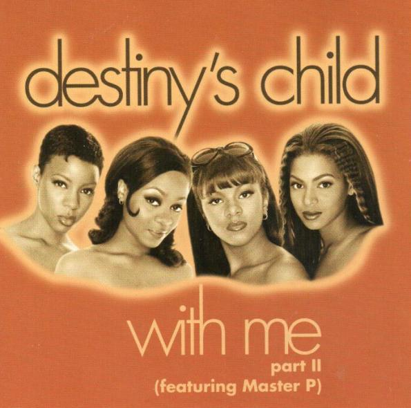 Destiny s child with me part ii promo cd single 1998