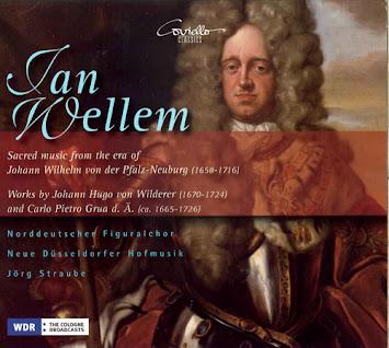 Sacred music from the era of Wilhelm von der Pfalz-Heuburg (1658 -1716)