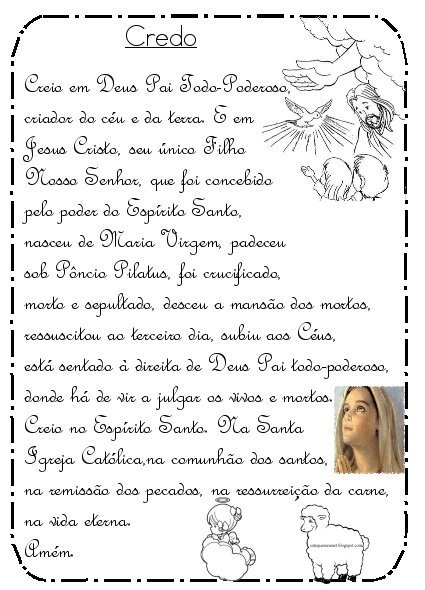 Top Catequese na Net: Livrinho Orações Católicas - parte 2 MB26