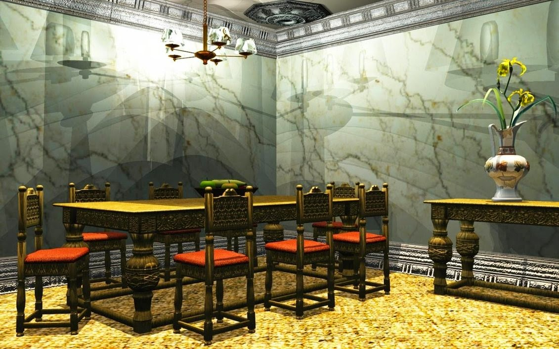 Wallpaper for dining rooms