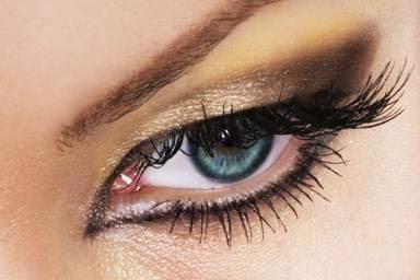 Maquillaje de Ojos para Año Nuevo, parte 1