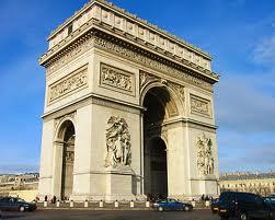 El Arco de Triunfo de París
